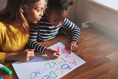 How children learn well and parents have a positive influence